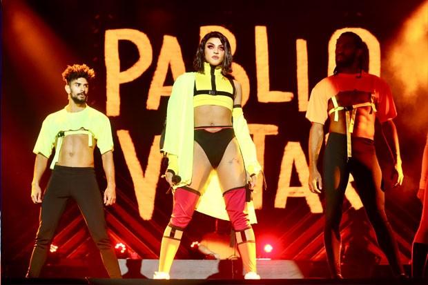 Pabllo se apresenta no Milkshake Festival (Foto: Manuela Scarpa/AgNews)
