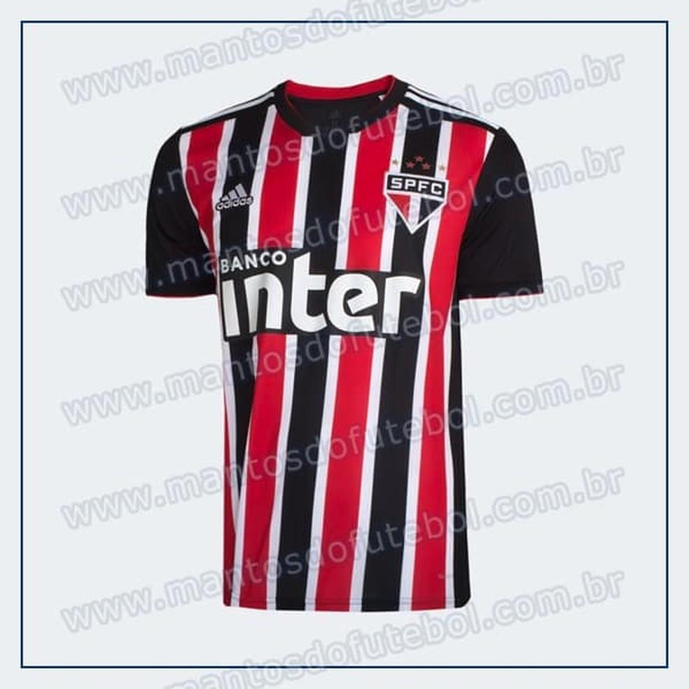 Camisa do São Paulo - Uniforme 2 (Foto: Reprodução)
