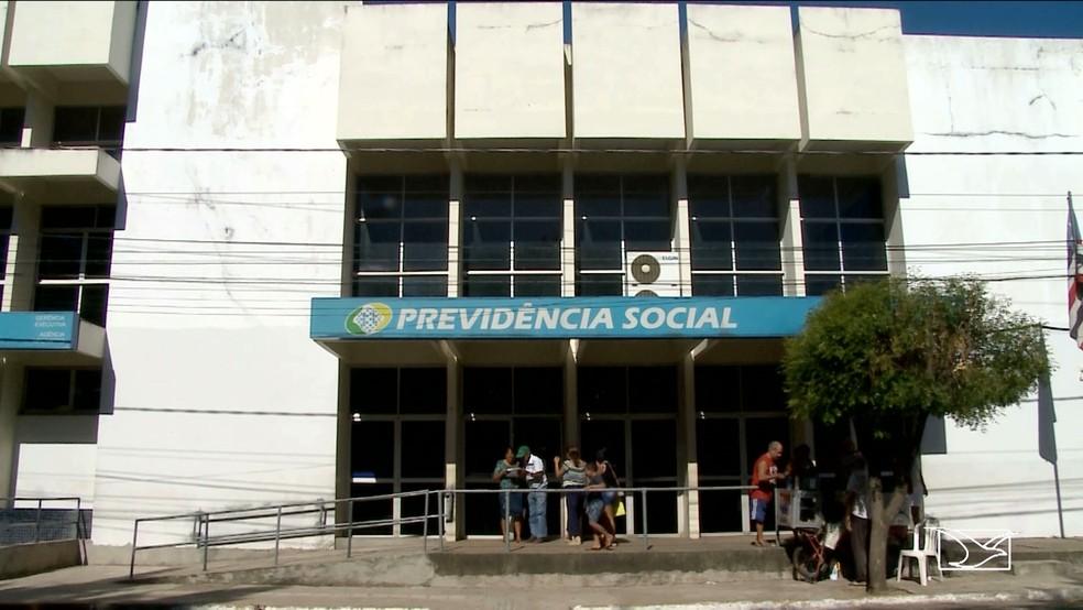 Pacientes tem benefício cancelado no INSS em Imperatriz (Foto: Reprodução/TV Mirante)