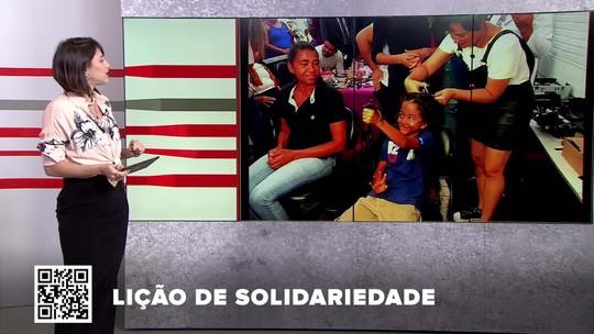 G1 no BDDF: Crianças dão show de solidariedade com doação de cabelo para banco de perucas