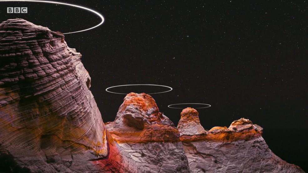 Autor das fotos diz que está tentando renovar as percepções das pessoas sobre as paisagens — Foto: BBC