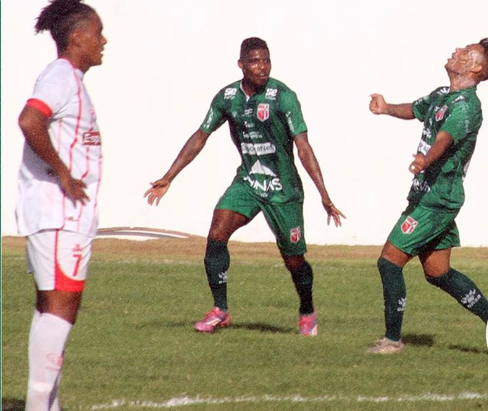 Lagarto vence o América de Pedrinhas por 3 a 0, no Roberto Silva — Foto: Ricardo Rocha/Lagarto FC