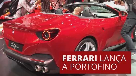 Ferrari mais 'acessível', Portofino tem 600 cv e substitui a California T