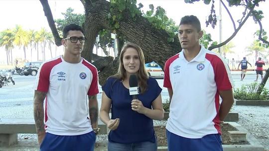 Edson e Vinícius, do Bahia, comentam evolução do time com Carpegiani
