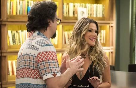 Na quarta-feira (13), Silvana (Ingrid Guimarães) filmará Diogo (Armando Babaioff) traindo Nana (Fabiula Nascimento) e mostrará o vídeo para Mario (Lucio Mauro Filho) TV Globo