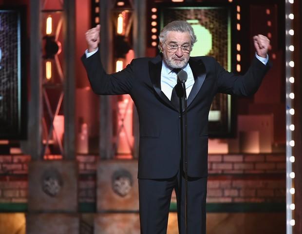 Robert de Niro no Tony Awards 2018 (Foto: getty images)