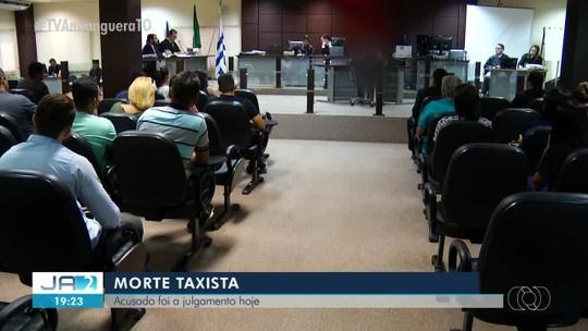 Acusado de matar taxista é julgado em Palmas