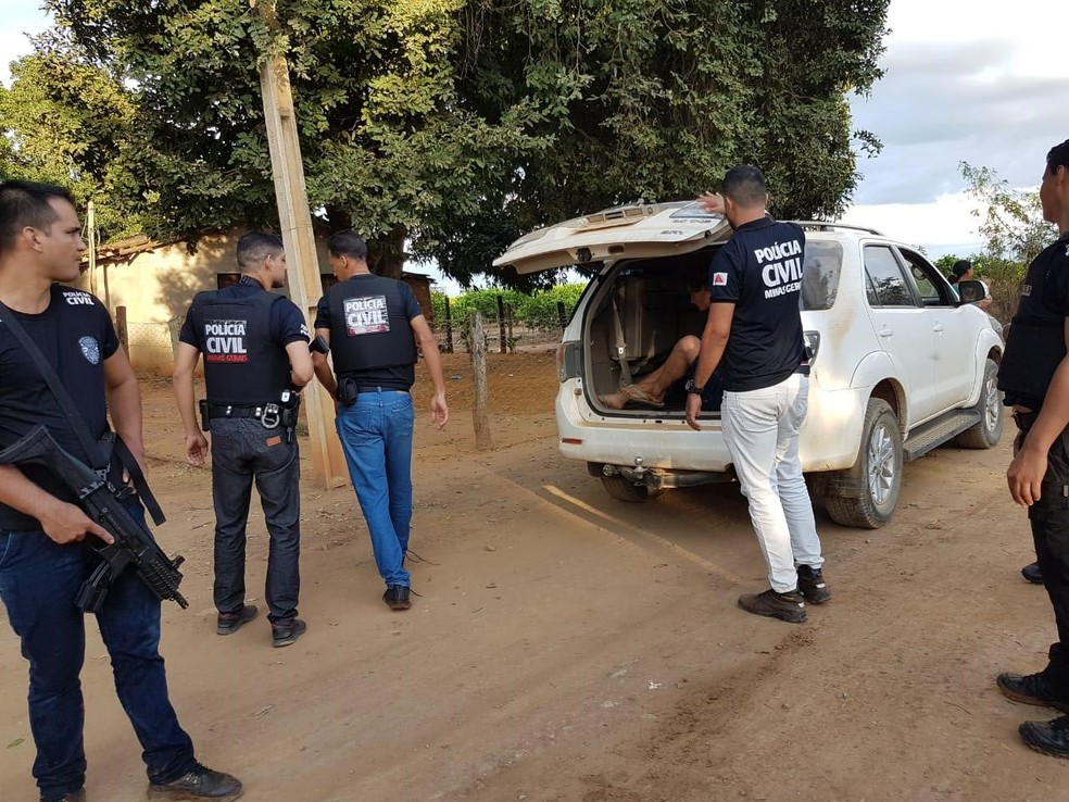 Foragido foi capturado nessa quarta-feira (8) — Foto: Polícia Civil/ Divulgação