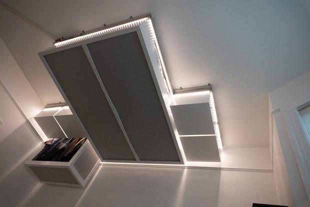 Móveis inteligentes levitam para liberar espaço em casas pequenas (Foto: Reprodução)