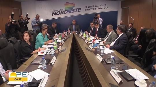 Governadores do Nordeste fazem consórcio para facilitar ações junto ao Governo Federal