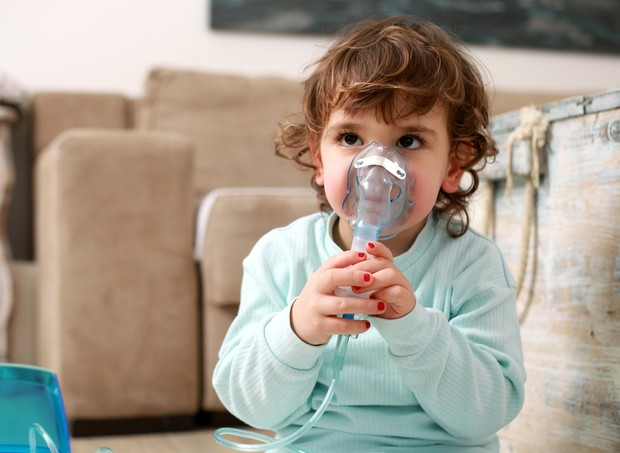 Asma; inalação; doença respiratória (Foto: Shutterstock)