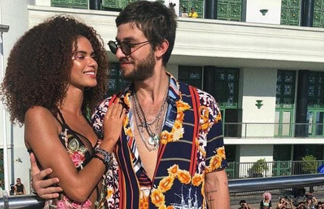 Já Ícaro (Chay Suede) aparecerá com um novo amor: Marina (Juliana Nalú) (Foto: Reprodução Instagram)