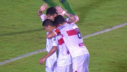 """Cabo destaca jogada de Alisson Farias e Léo Ceará no 2º gol do CRB contra Vitória: """"Arco e flecha"""""""