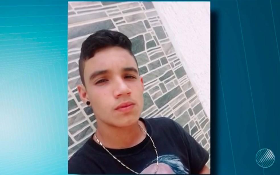 Ramon Prado, de 15 anos, foi encontrado morto, após passar cinco dias desaparecido na Bahia (Foto: Reprodução/TV Sudoeste)