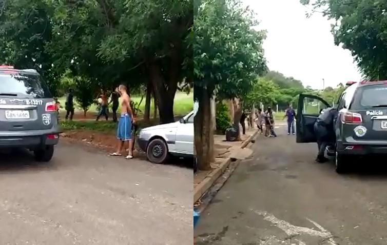 Família registra ocorrência e alega agressão de PMs durante abordagem em Bauru