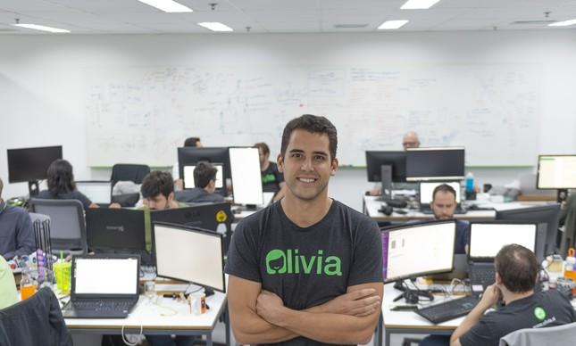 Lucas Moraes, CEO da Olivia