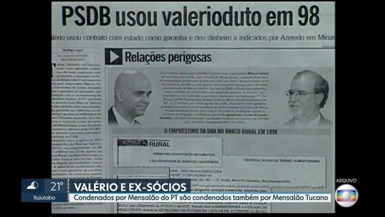 Marcos Valério, Hollerbach e Cristiano Paz são condenados no mensalão tucano