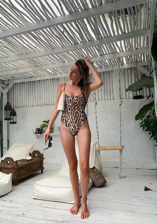 A modelo Camille Charriere (Foto: Instagram)