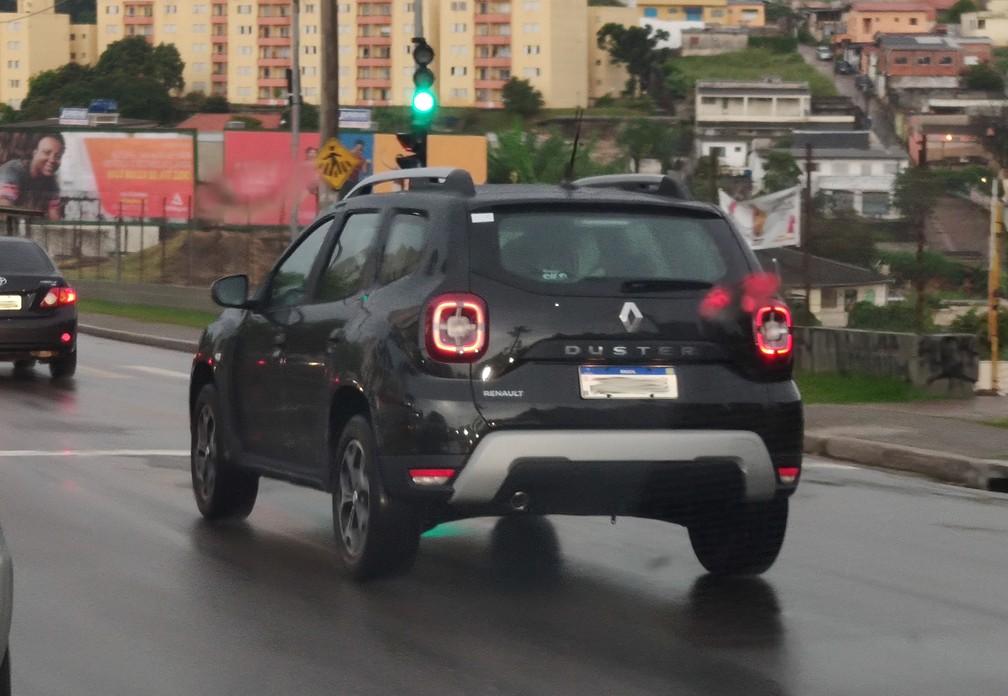 Perto do lançamento, novo Renault Duster é visto sem camuflagens em Jundiaí (SP) — Foto: Guilherme Fontana/G1