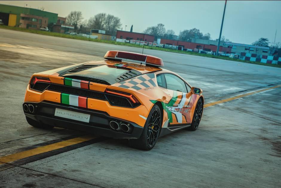 Lamborghini Huracán na pista (Foto: Divulgação/ Lamborghini)