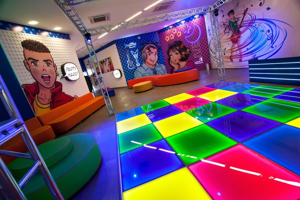 O espaço Turma da Mônica tem jogos e cinema para crianças e adolescentes (Foto: Divulgação)