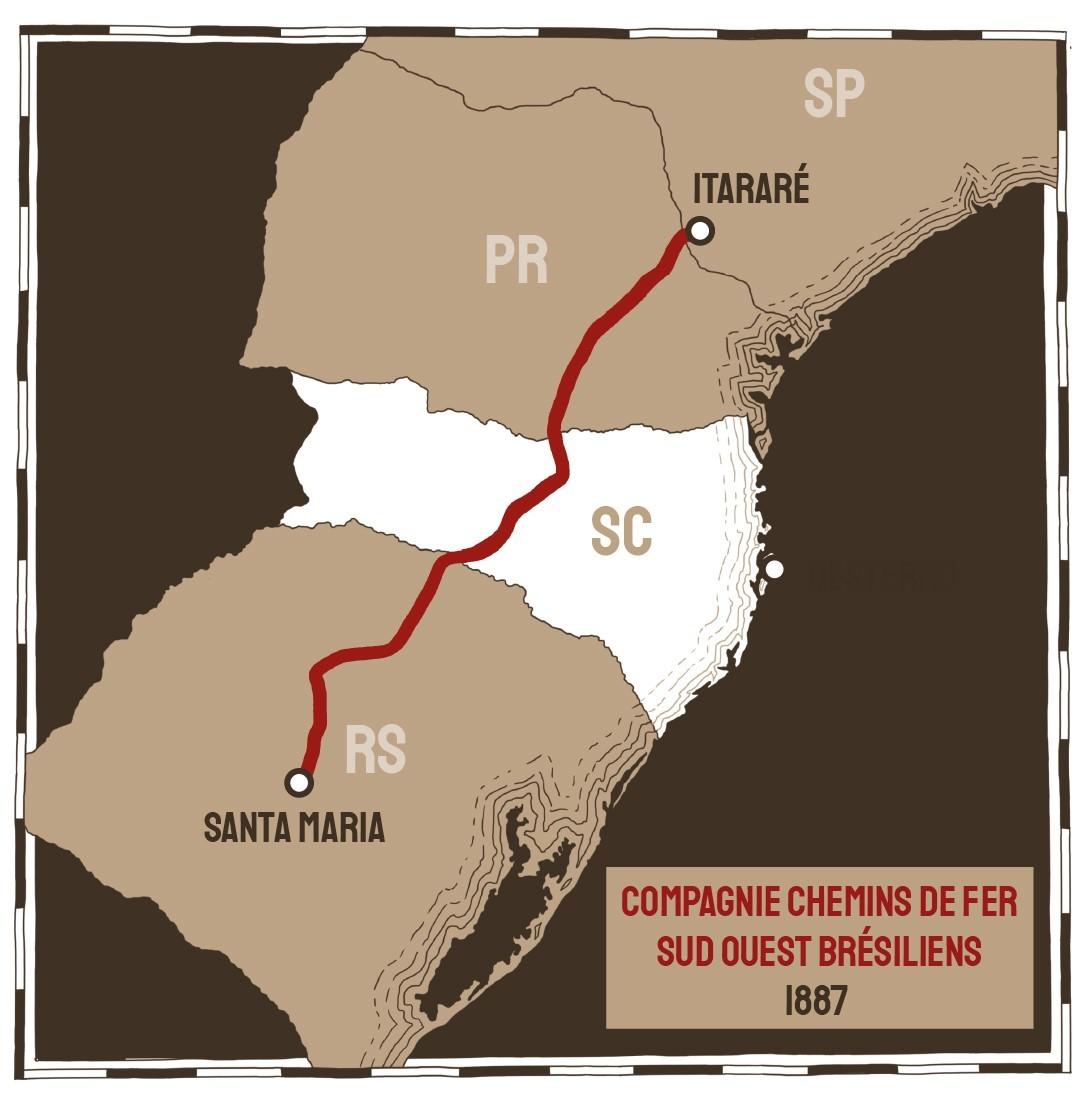 Mais de um século depois, saiba como foi o assalto ao trem pagador em SC antes da Guerra do Contestado