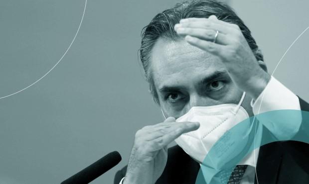 Carlos Murillo, executivo da Pfizer, na CPI da Covid: confirmação de que Brasil foi um dos primeiros a receber oferta de vacina