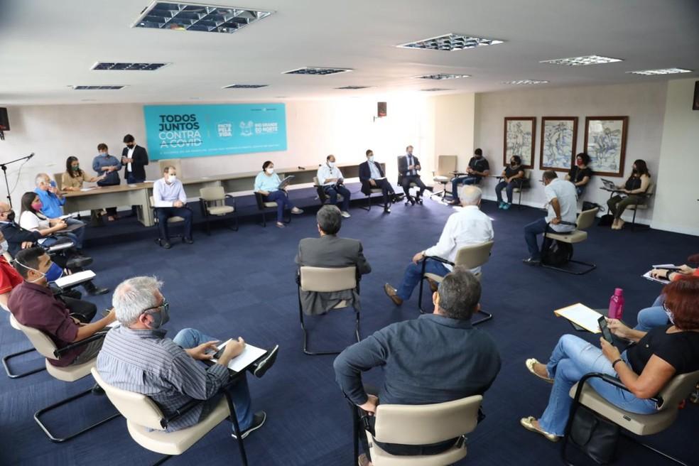 Anúncio foi feito em reunião com o Fórum dos Servidores — Foto: Divulgação