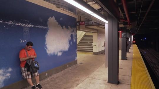 Conheça a estação de metrô criada por Yoko Ono
