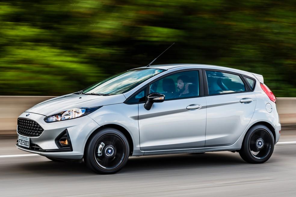 Ford Fiesta Style Ecoboost (Foto: Divulgação/Ford)