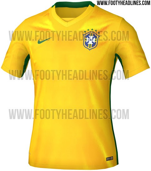 59f9b82d8233a Nova camisa da seleção brasileira será lançada no Aterro do Flamengo ...