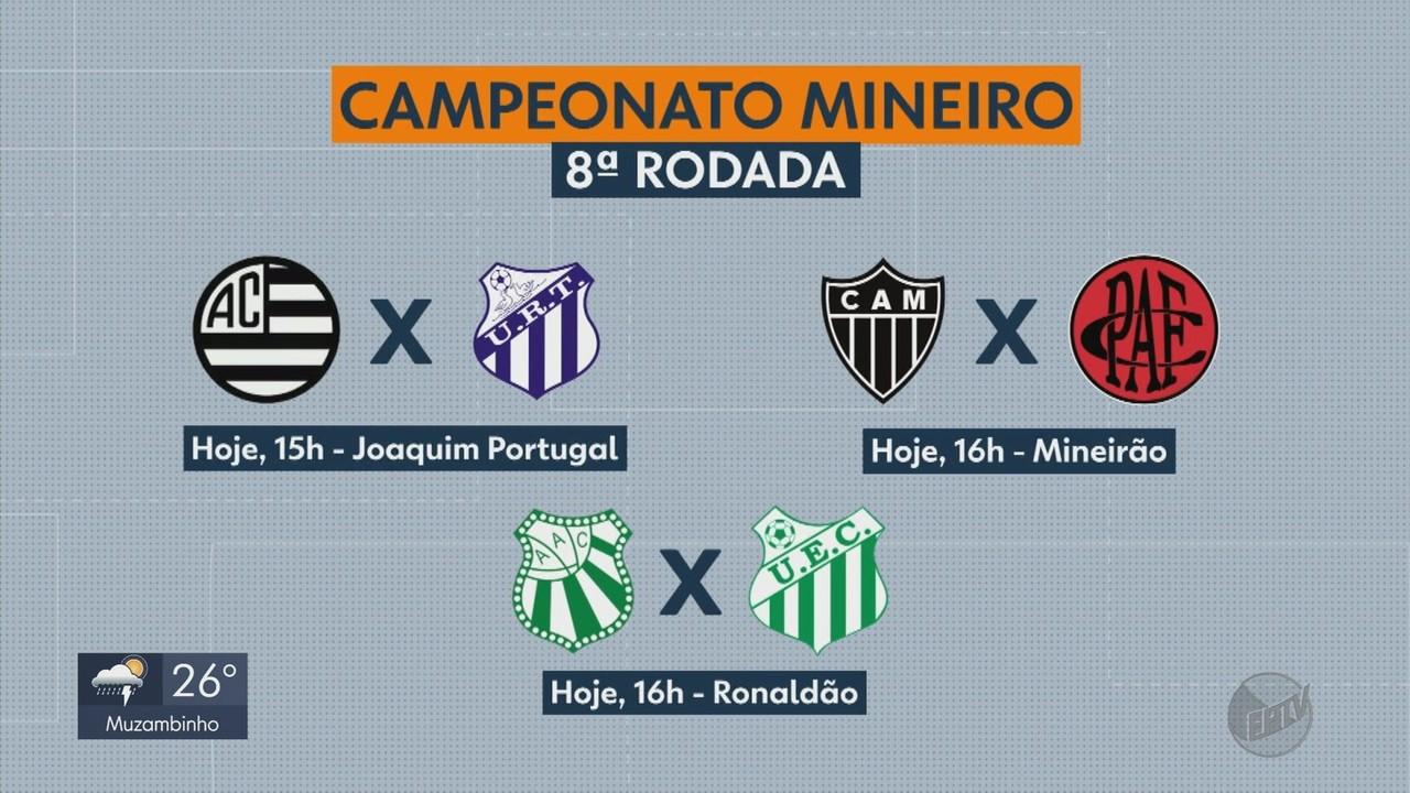 Confira os jogo da 8ª rodada do Campeonato Mineiro
