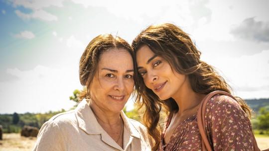 Nívea Maria e Juliana Paes serão mãe e filha novamente em 'A Dona do Pedaço'