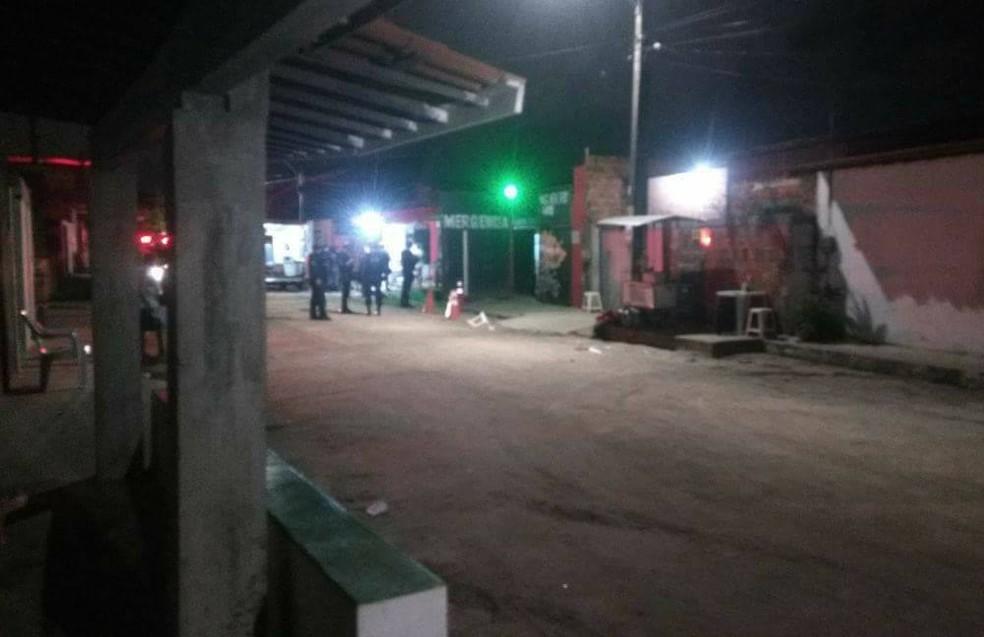 Chacina ocorreu no 'Forró do Gago', local de shows no Bairro Cajazeiras (Foto: Facebook/Reprodução)