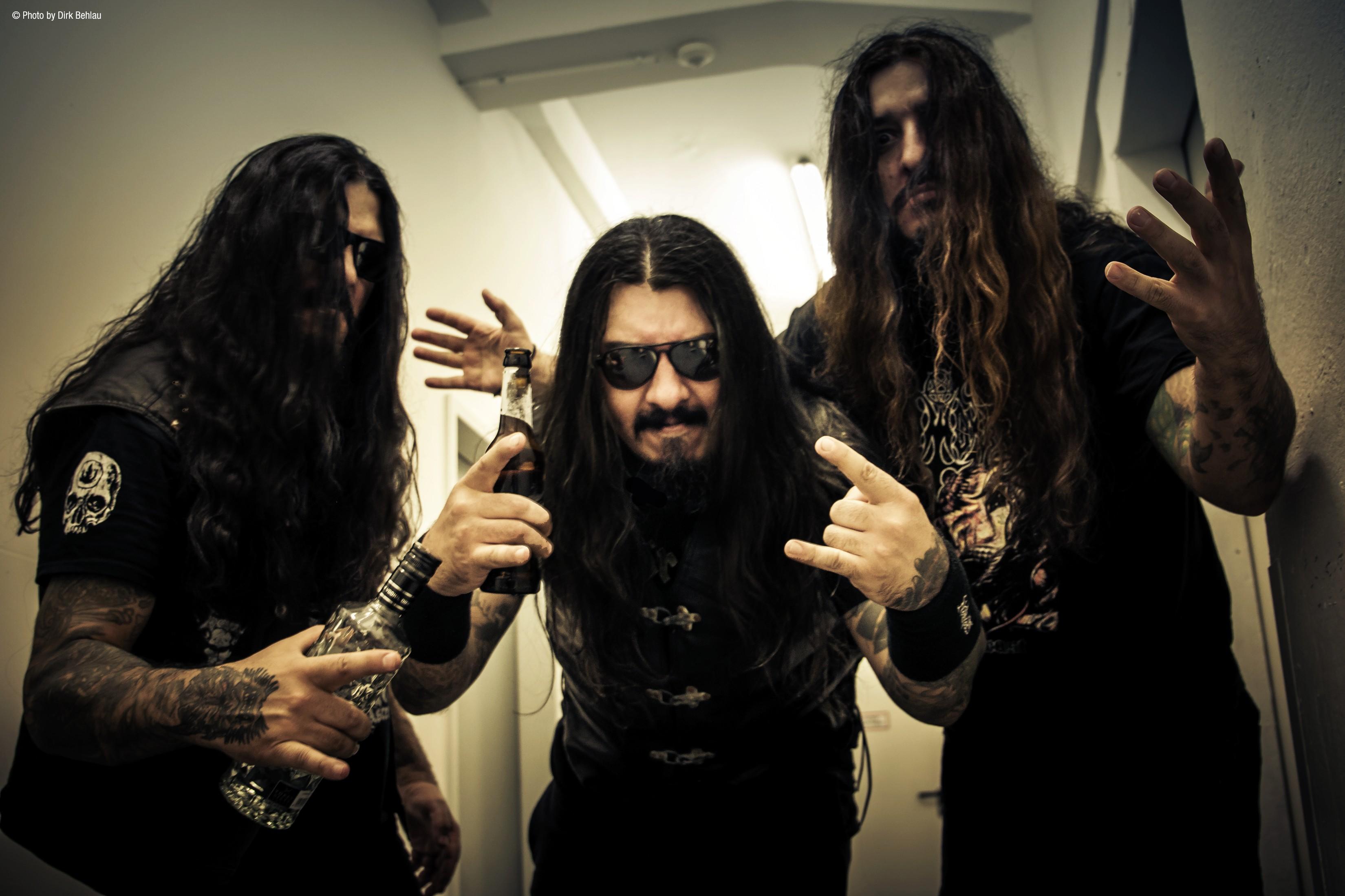 A banda brasileira de metal extremo Krisiun