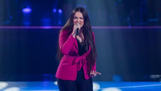 Bia Ferraz relembra participação em show de Gusttavo Lima: 'Eu pedia para cantar'