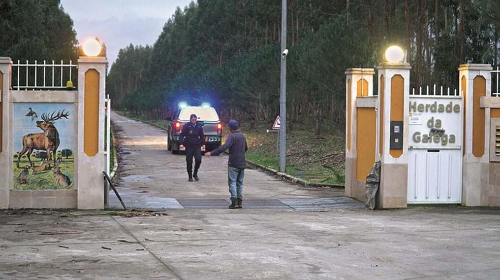 Herdade da Galega, onde ocorreu o acidente, em Portugal  — Foto: Cofina Jornal