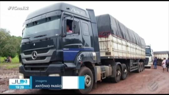 Dnit libera passagem de veículos de carga na BR-010