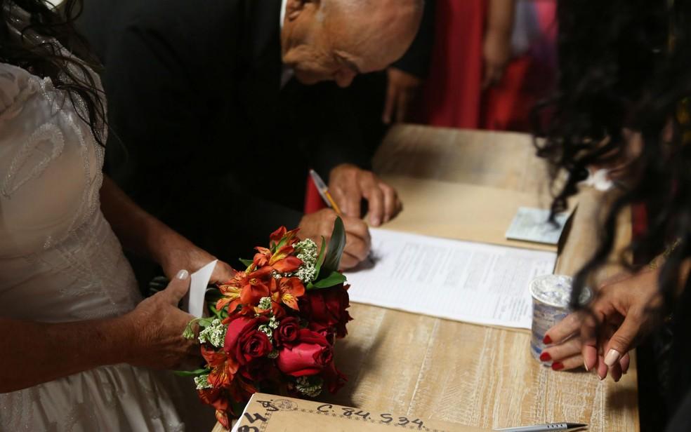 GDF vai selecionar 150 casais de baixa renda para participar de casamento comunitário em novembro de 2017 (Foto: Dênio Simões/Agência Brasília/Divulgação)