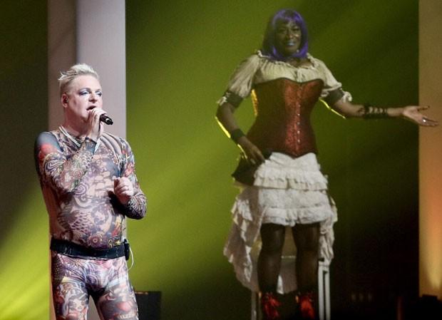 Show do Erasure em São Paulo (Foto: Brazil News / Manuela Scarpa)