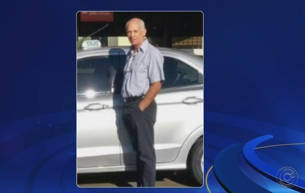 Taxista Gabriel foi encontrado morto em Fernandópolis (Foto: Reprodução/TV TEM)