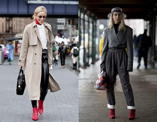 Com looks mais sociais, a bota combina bem com peças neutras (Foto: Imaxtree)