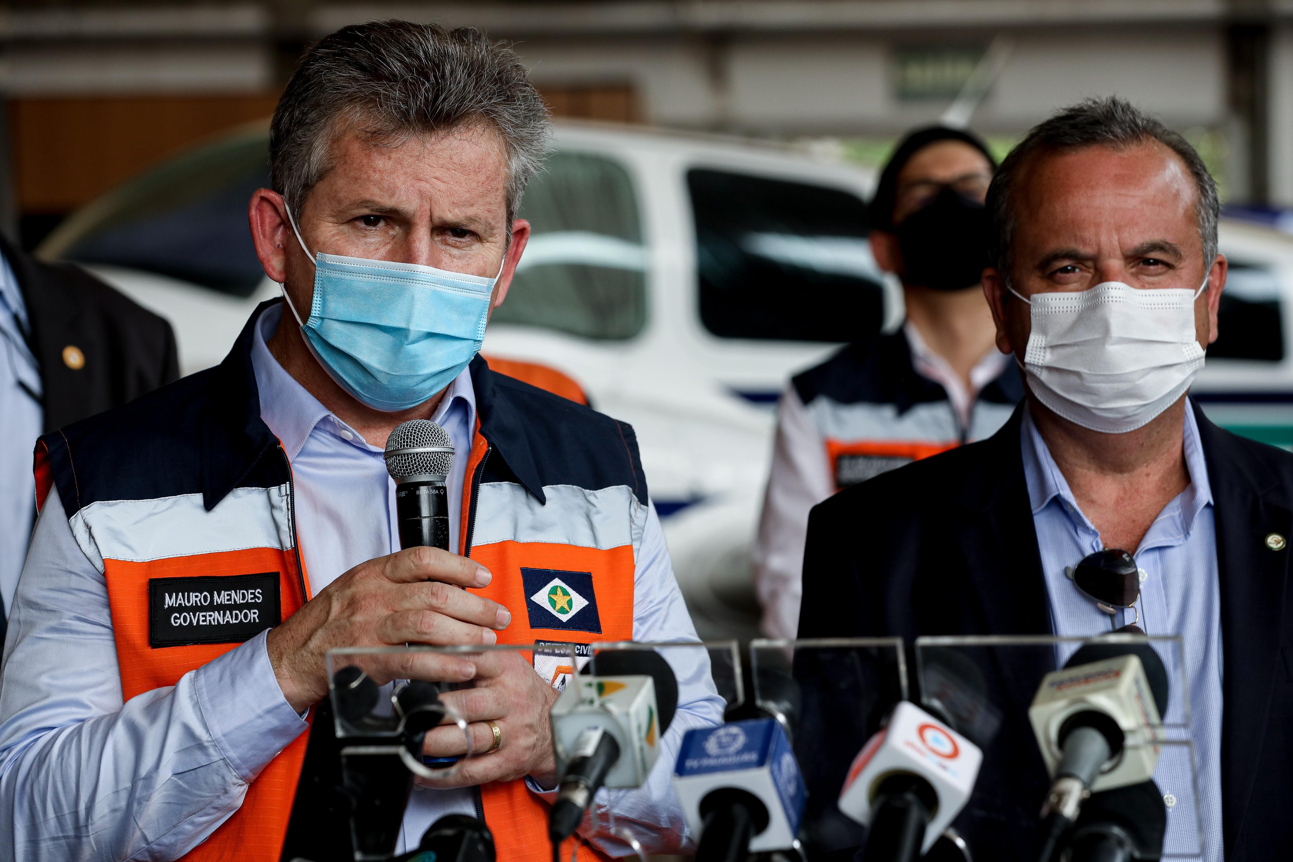 Governador de MT pede ao governo federal liberação de militares da Força Nacional para atuar no combate aos incêndios florestais