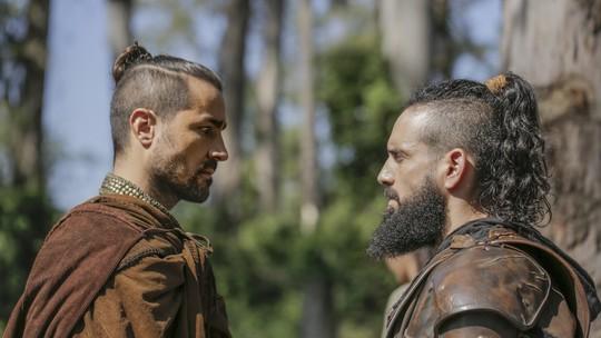 Últimos capítulos: Virgílio duela com Delano para proteger Augusto