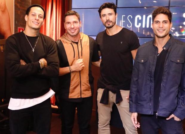 Rodrigo Lima, Rodrigo Sangion, Lucas Gil e André Martinelli (Foto: Foto:  Divulgação)