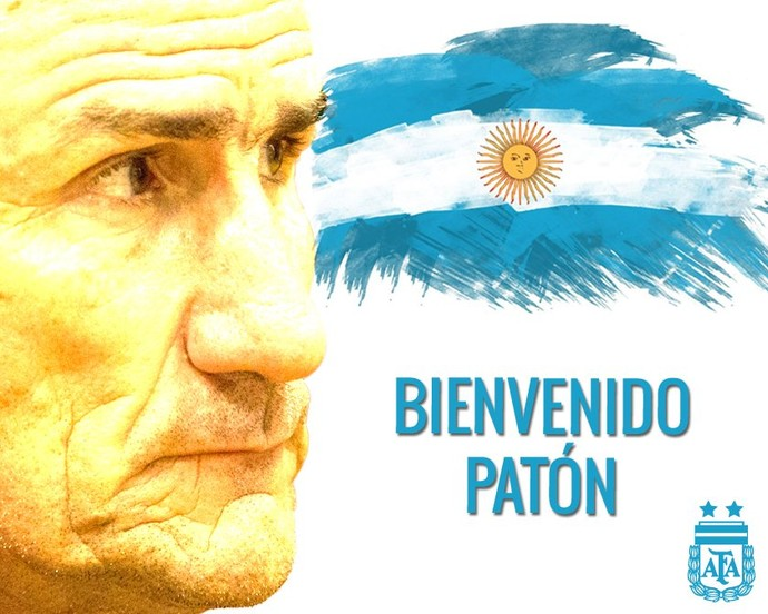 Bauza técnico da Argentina (Foto: Reprodução/Twitter)