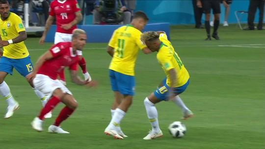 """""""Precisa ser mais objetivo"""", diz Roger sofre faltas sofridas por Neymar"""