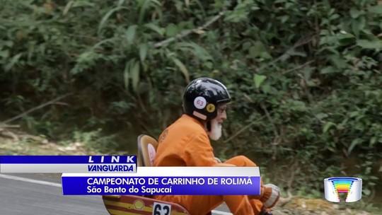 São Bento do Sapucaí recebe 'Grande Prêmio Chico Bento' de carrinho de rolimã