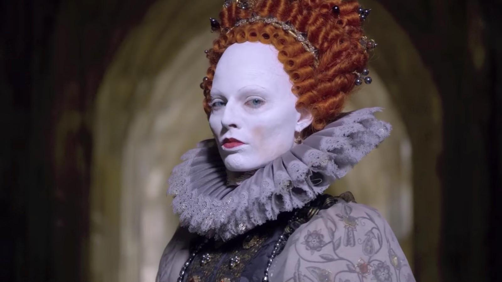 A atriz Margot Robbie em cena de Duas Rainhas (Foto: Reprodução)