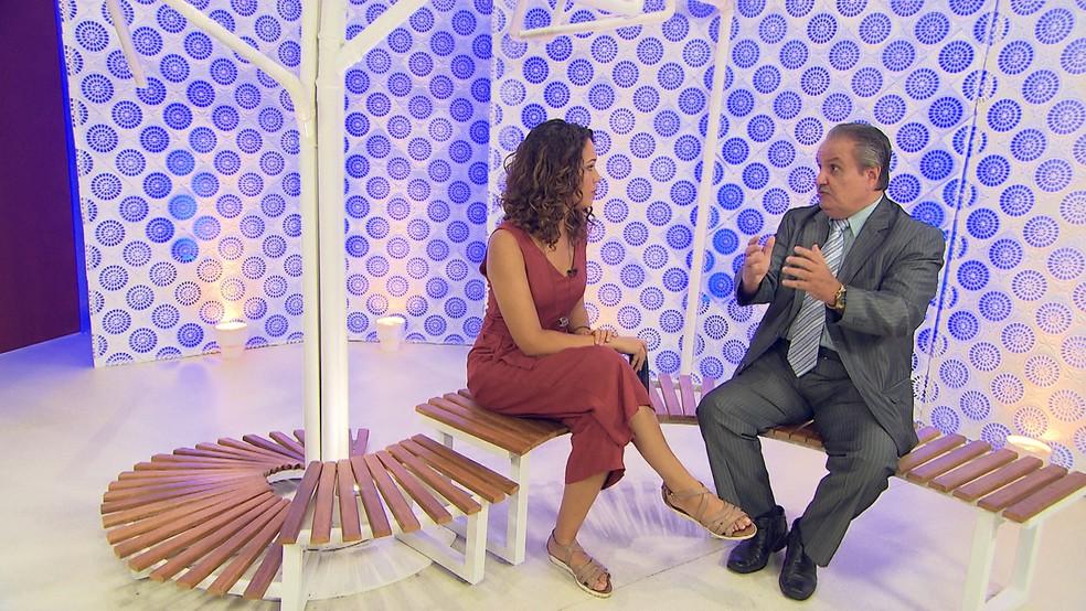 O advogado Carlos Martinez fala sobre a guarda compartilhada (Foto: TV Bahia)